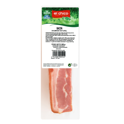 BACON PORTION V. 300 GRS