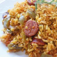 receta arroz con chorizo